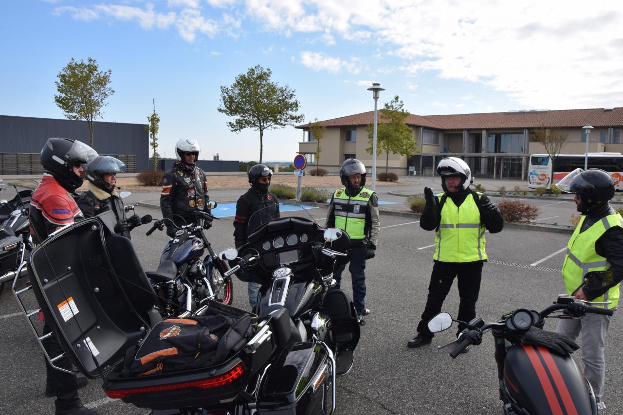 Chapter Toulouse, stage de sécurité.