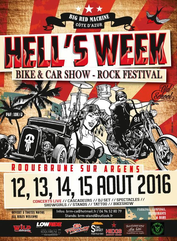 Agenda hells week