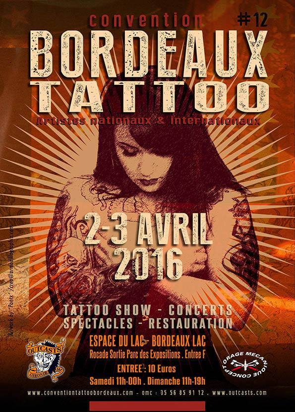 Agnda tattoo bordeaux