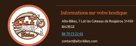Alto bikes 1