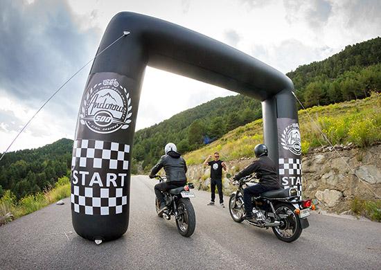 Andorra 500 depart