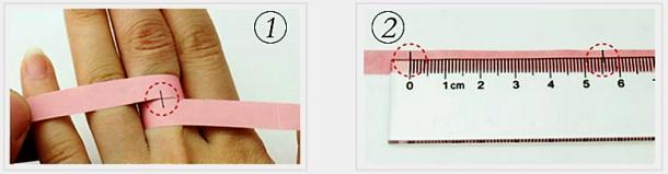 Comment mesurer la taille son doigt