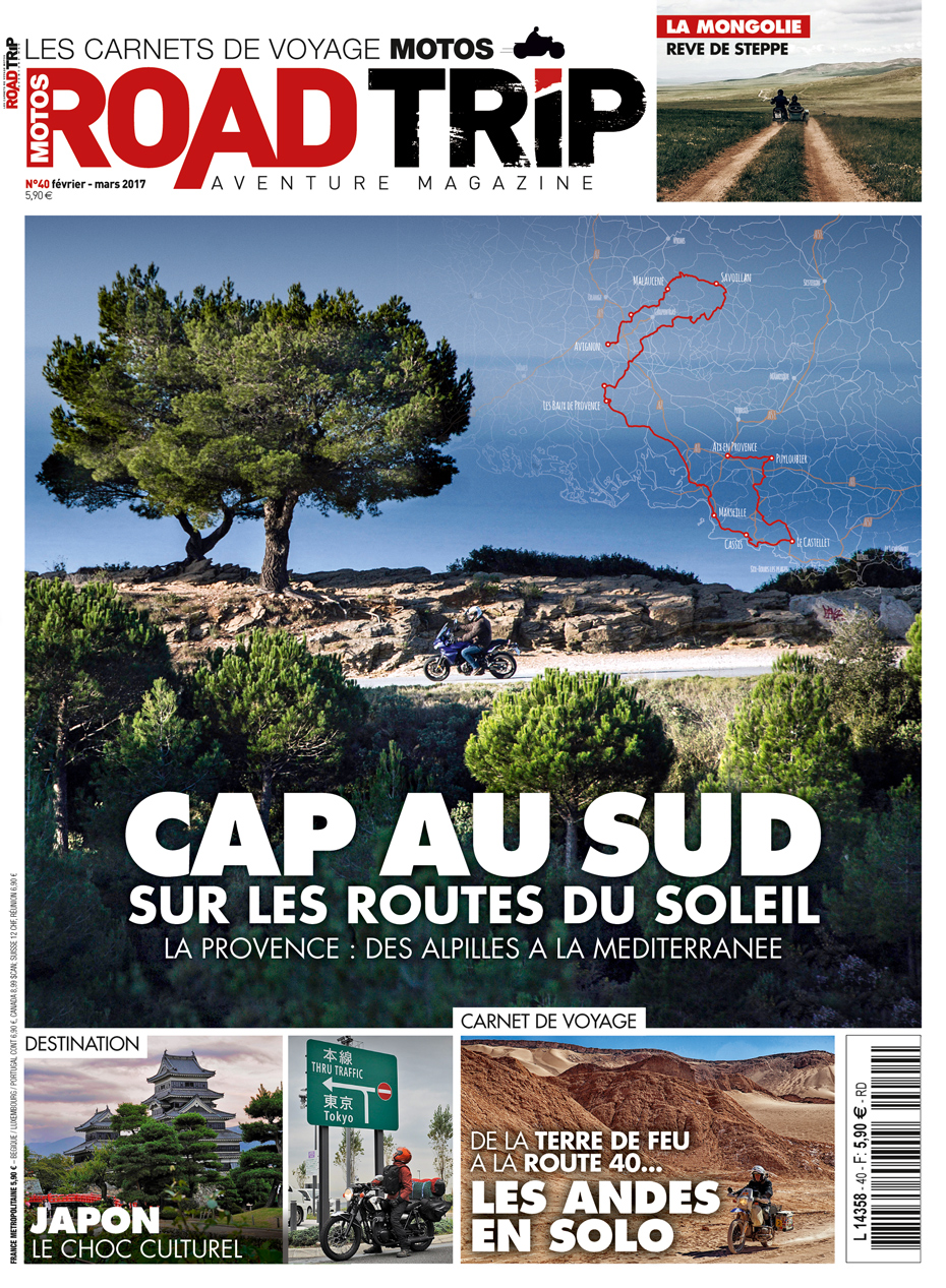 Couverture road trip 40