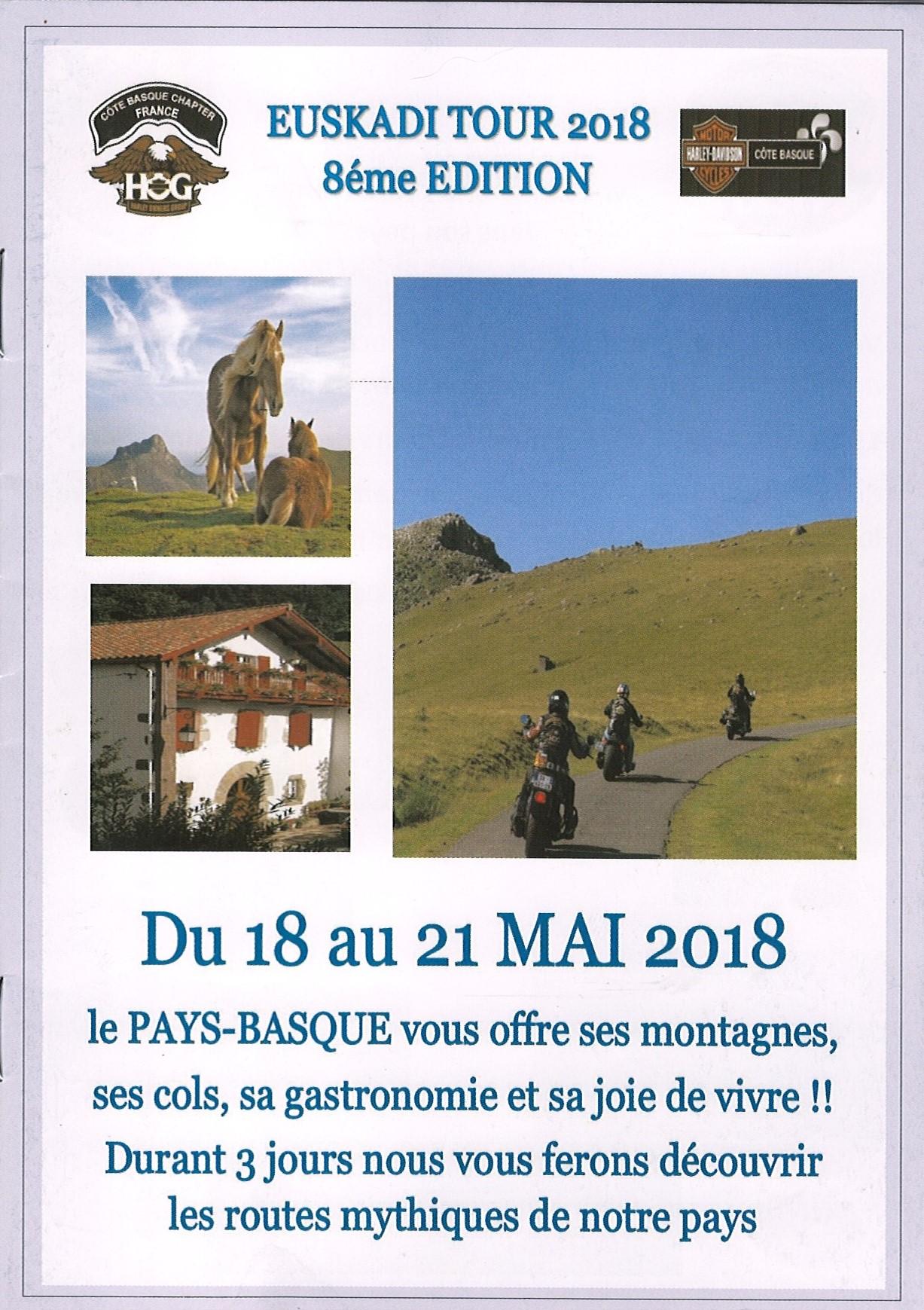 Euskadi tour 2018