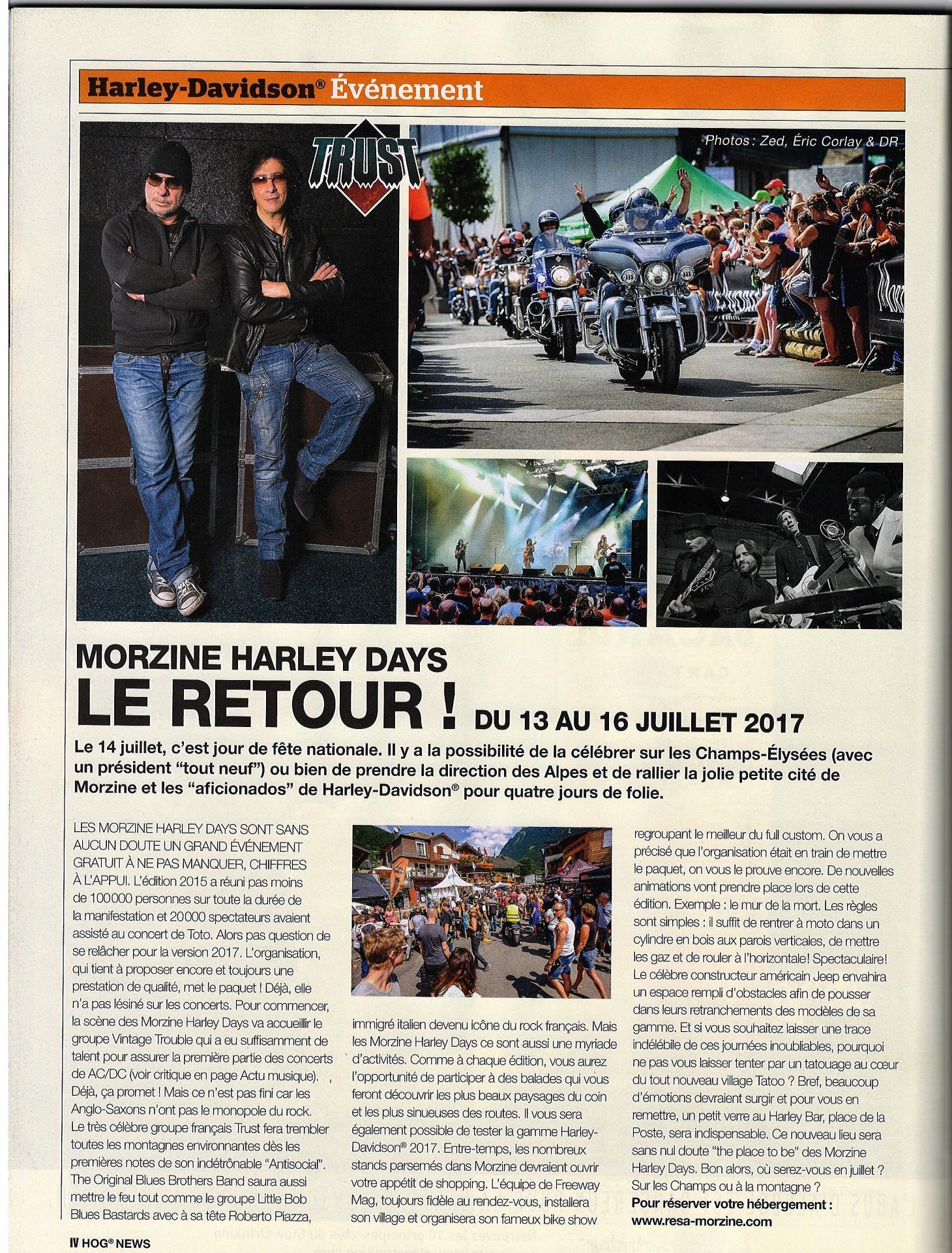 Morzine harley tour