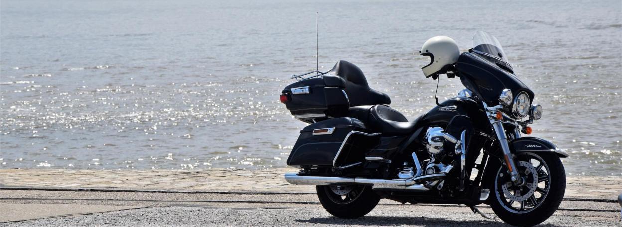 Moto plage