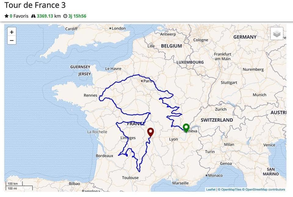 Cartes France et Corse