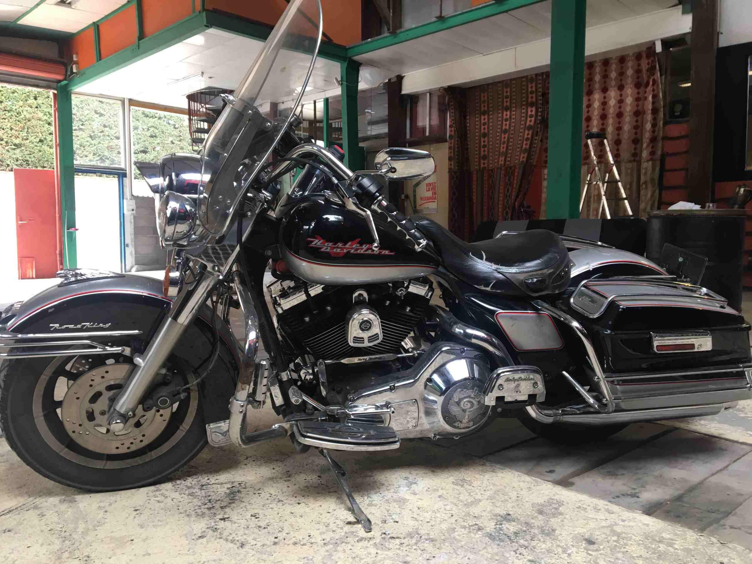 Harley Davidson Electra Glide Road King 1340cc carbu