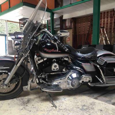 2019 10 20 Harley Davidson Electra Glide Road King 1340cc carbu