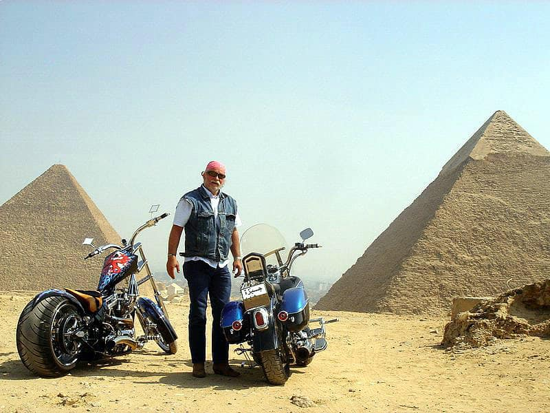 MOTORCYCLE TOURS IN EGYPT Circuit moto en Egypte