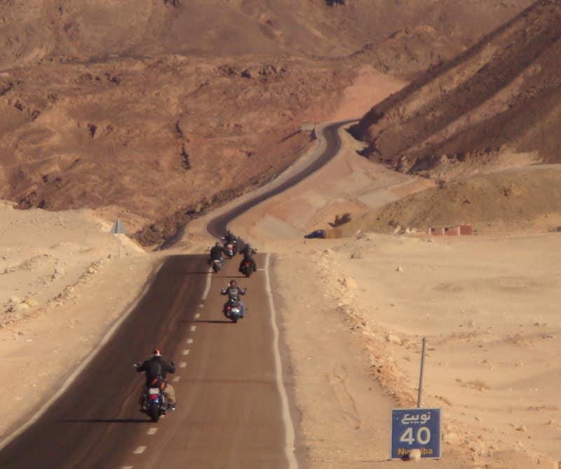 MOTORCYCLE TOURS IN EGYPT  Circuit moto en Egypte