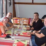 Déjeuner au Chalet d Irati