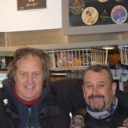 Photo avec Didier et André,