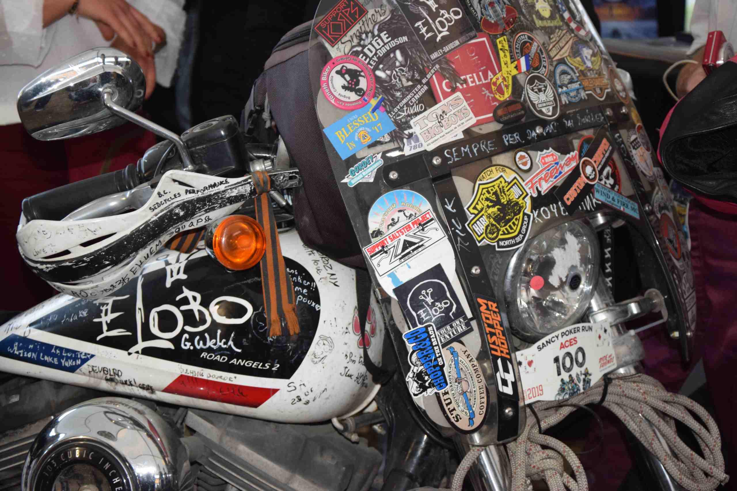 Moto d'Eric LOBO