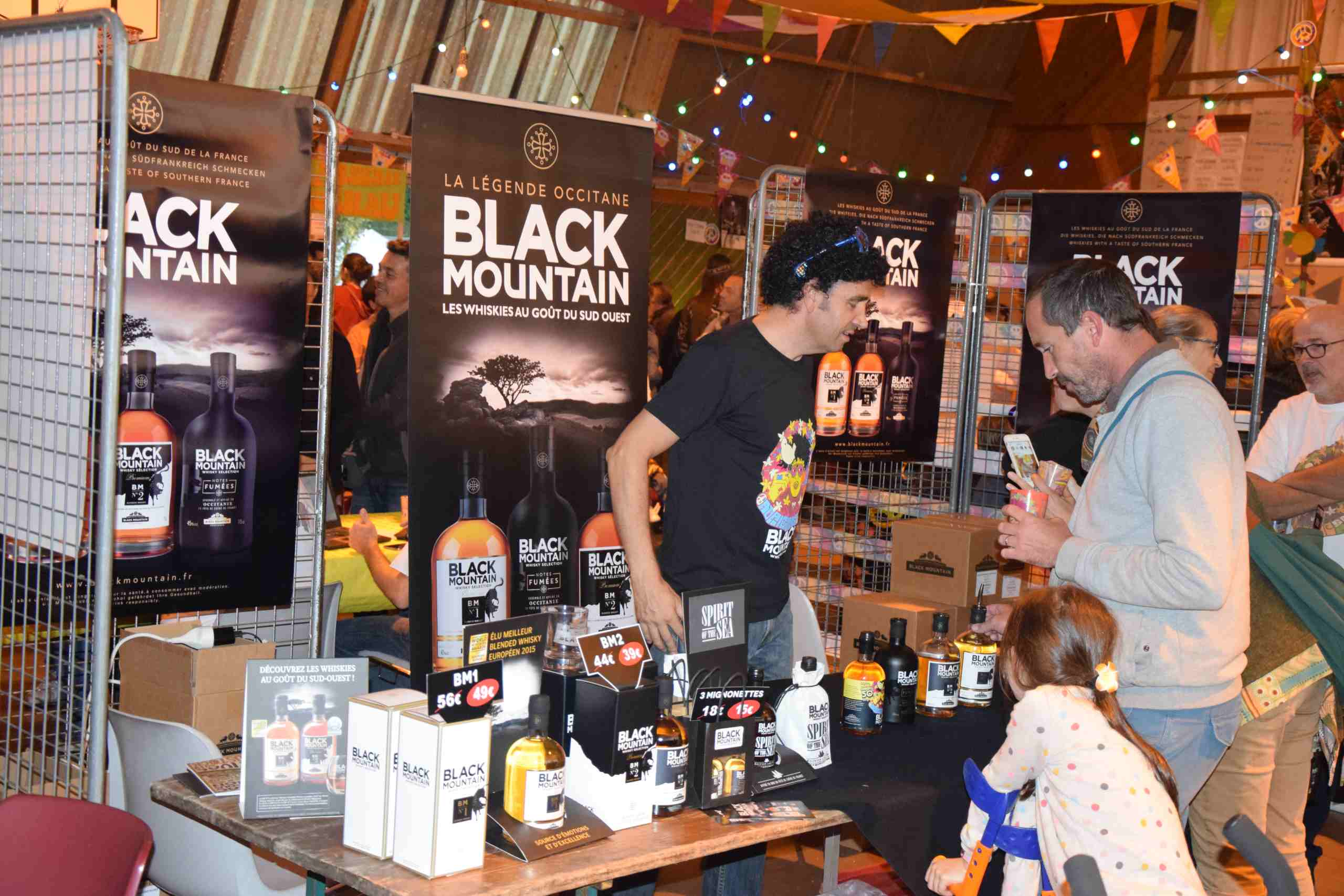 Stand de Whisky  artisanale