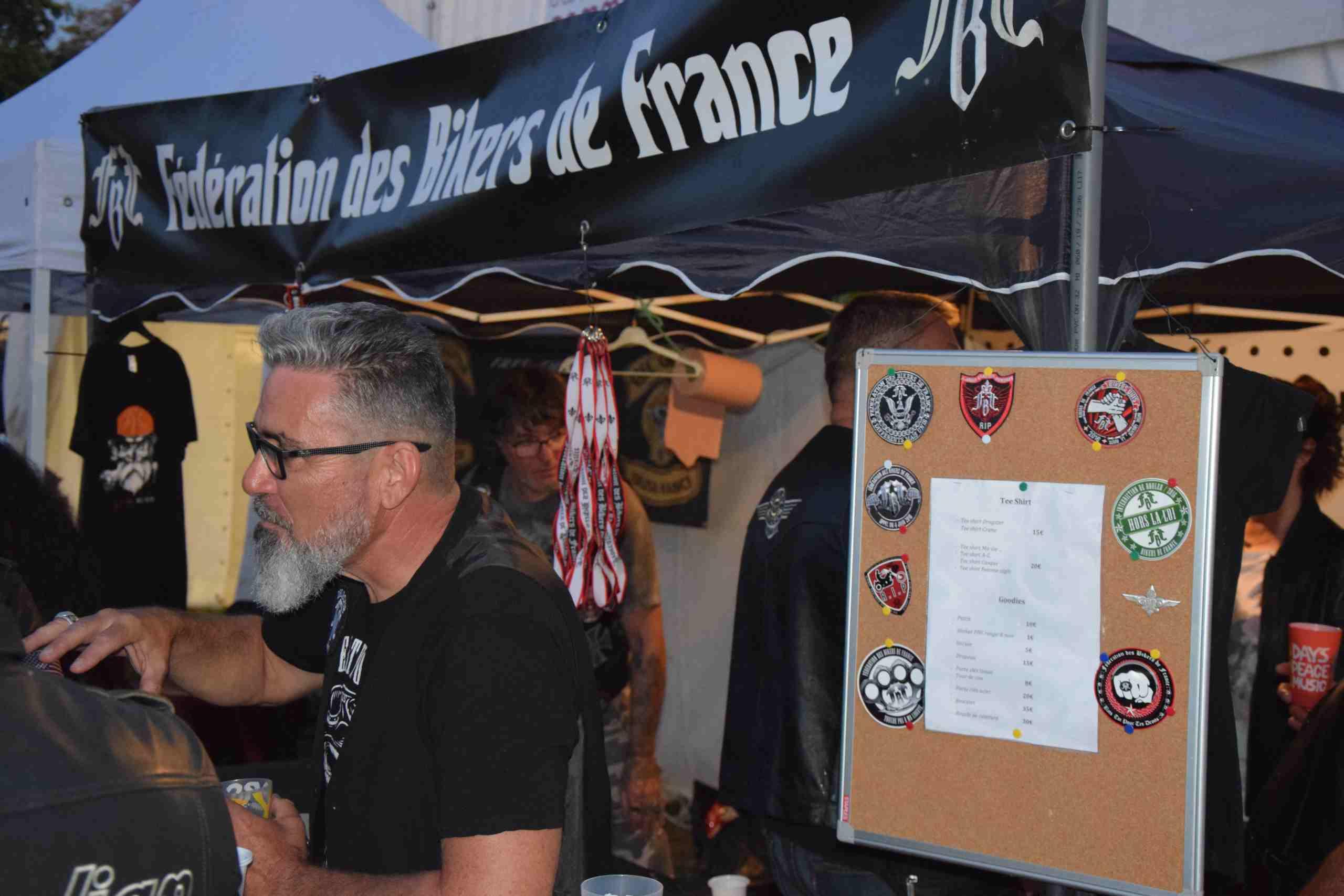 Stand Fédération des Bikers de France
