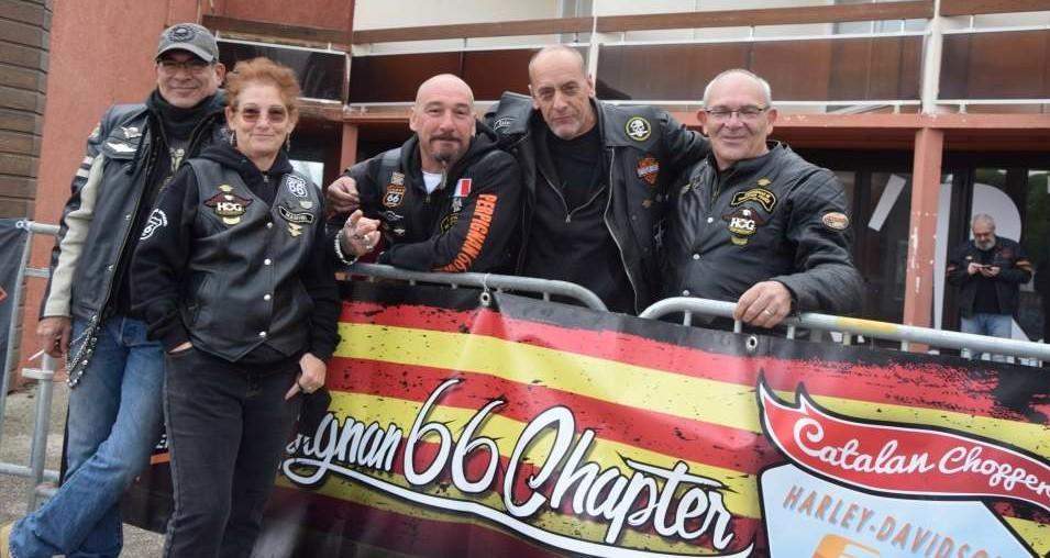 Les membres du Chapter HD 66 Perpignan