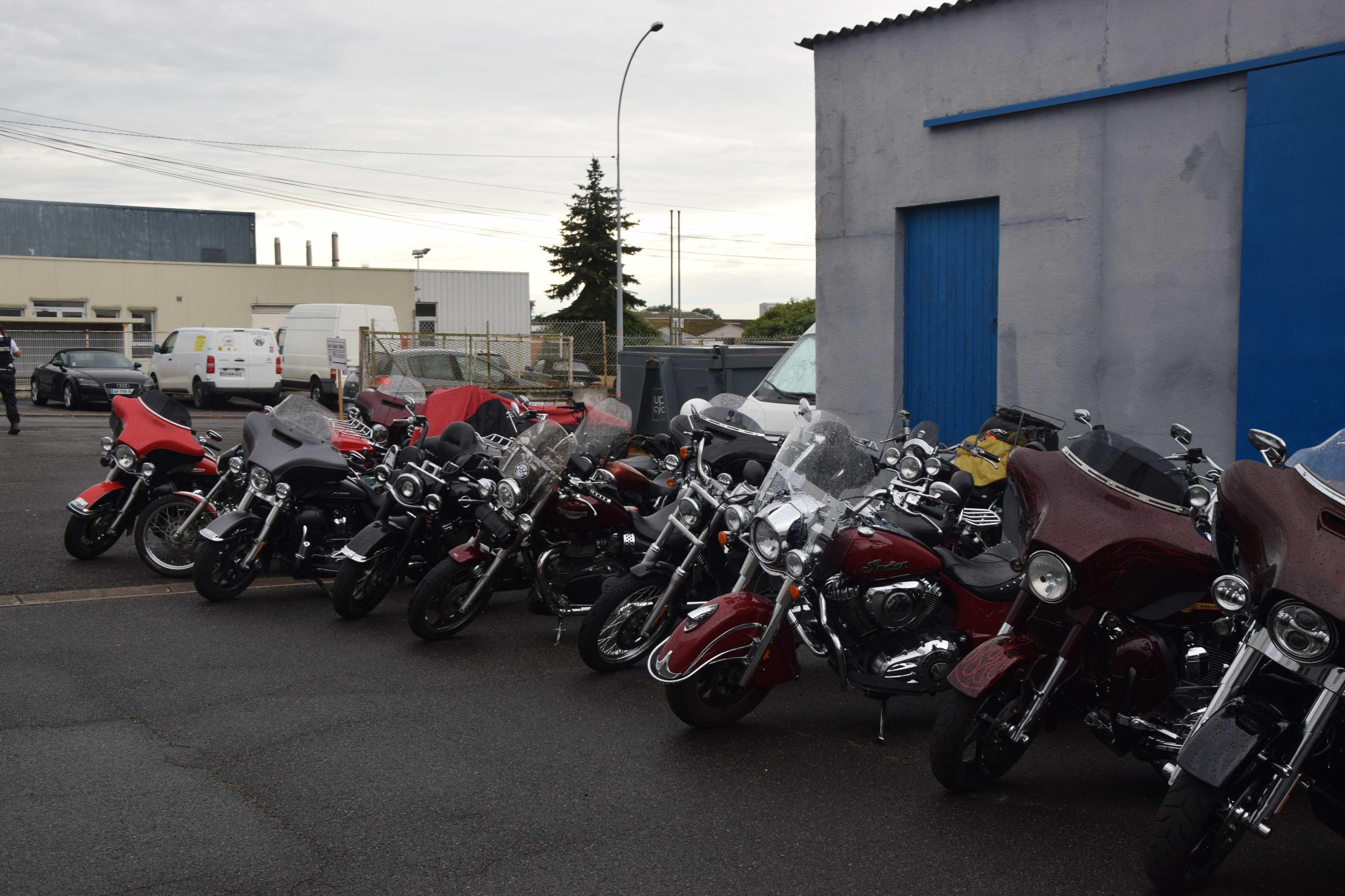 Quelques motos