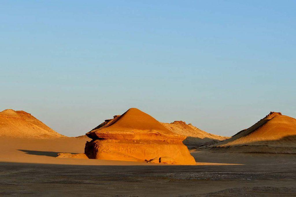 Fayoum desert Egypte