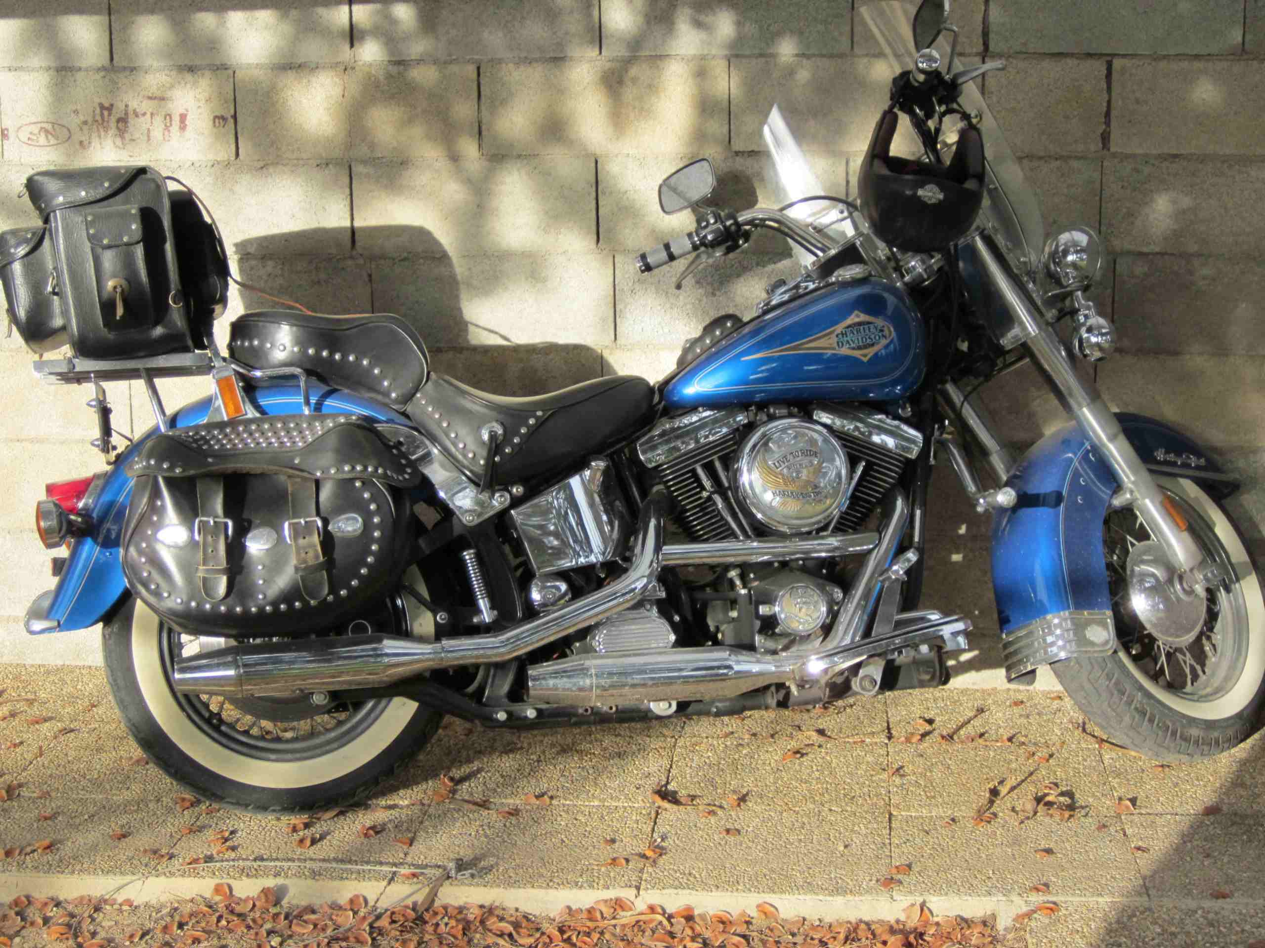 Harley-Davidson Heritage Softail Classic 1340 cm3 USA année 1995.