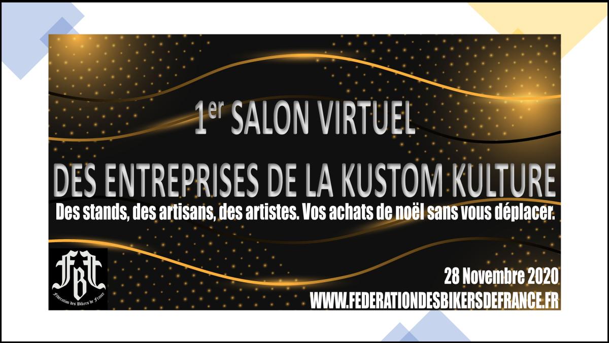 1 er salon virtuel de la kustom kulture