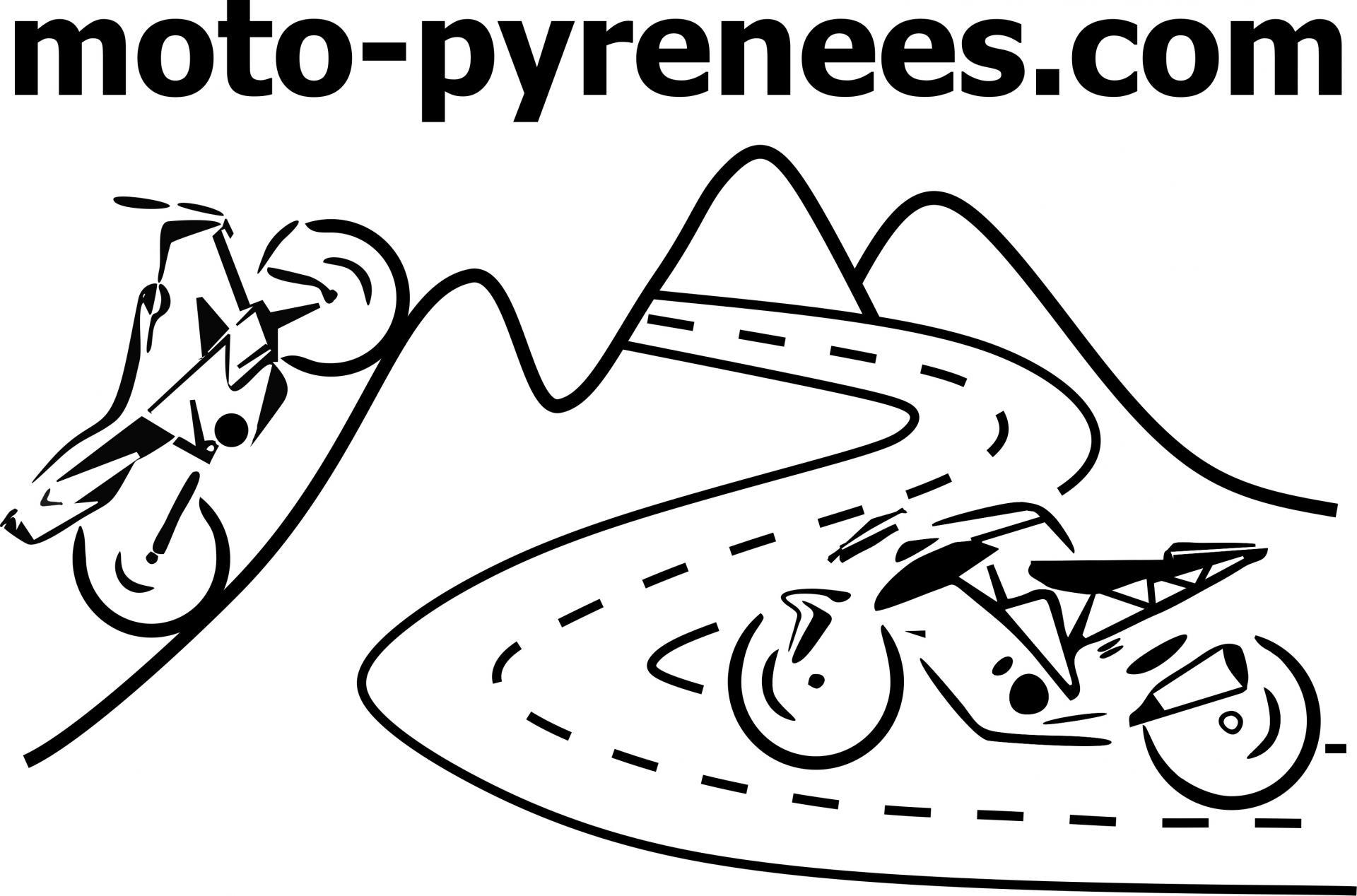 1 moto pyrenees balades voyage vacances logo 1