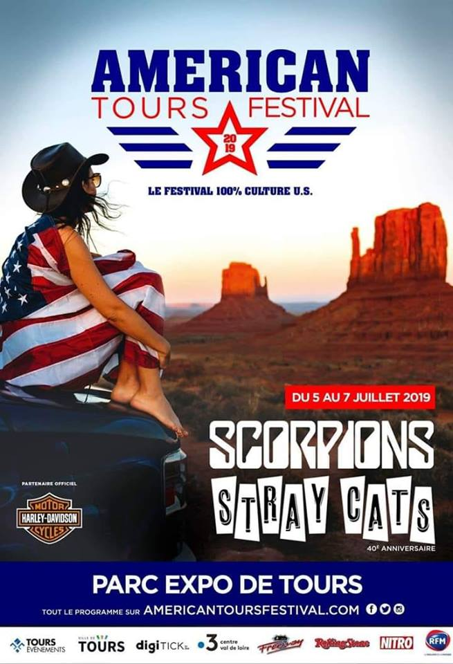 Calendrier Festival.American Tours Festival 2019 Concentration Moto Harley