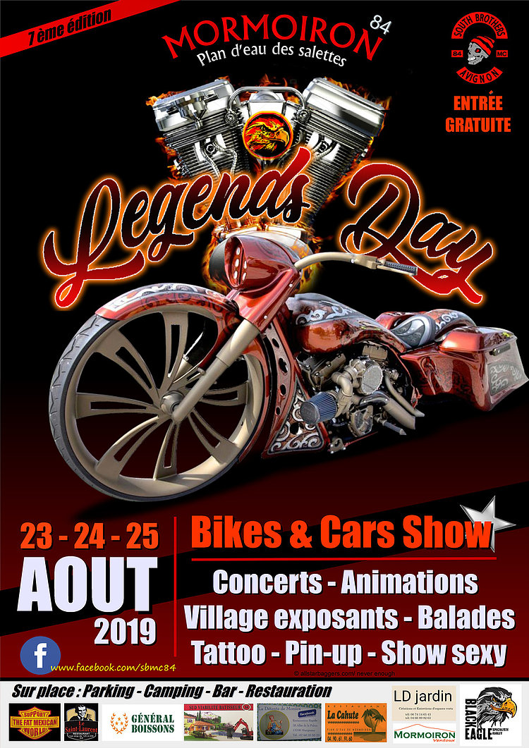 Affiche 20legends 20day 202019 20