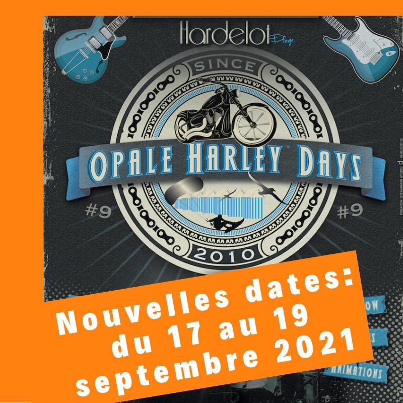 Affiche opal harley days