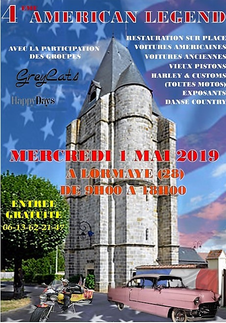 American legend 1 mai 2019 temp en cours 1
