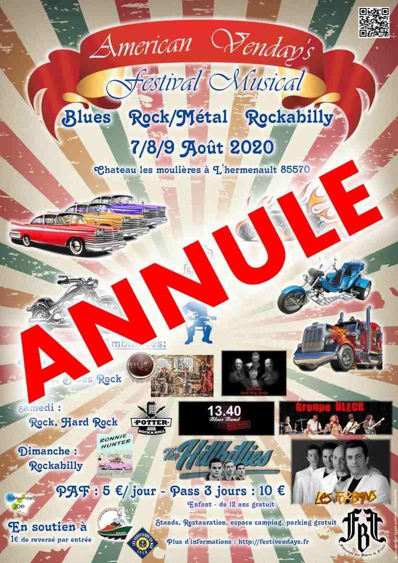 American tours festival annule