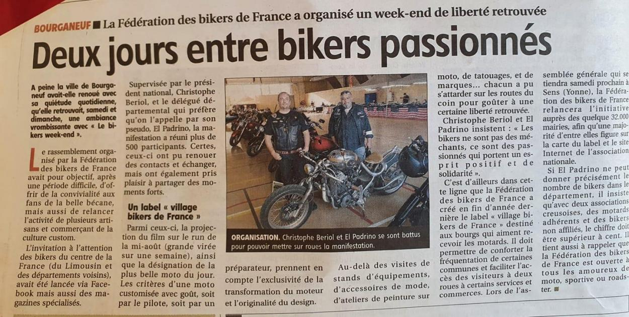 Article journal de la montagne