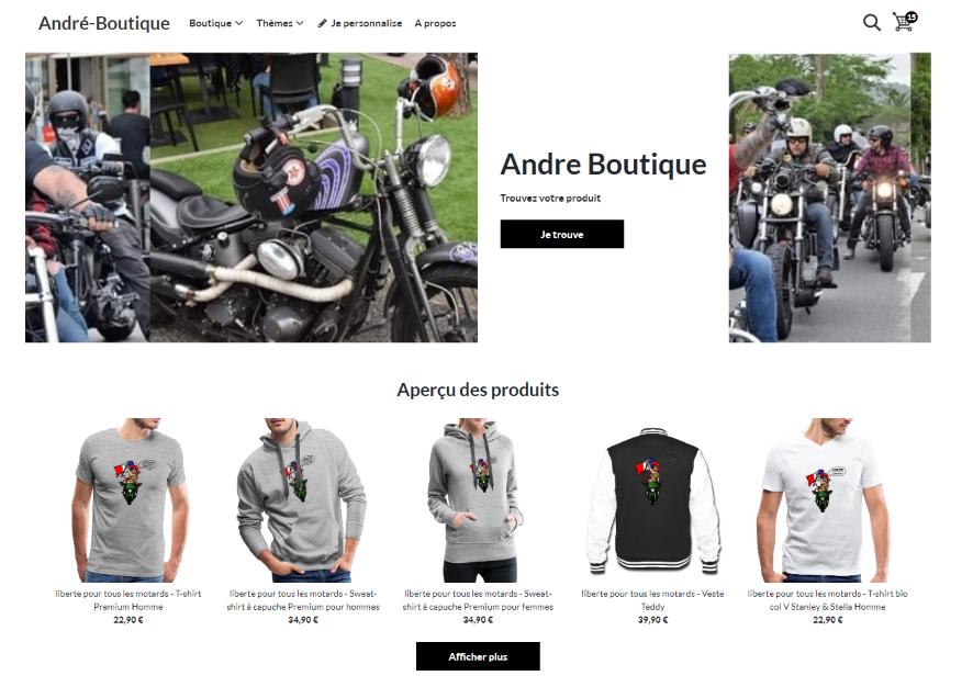 andre boutique