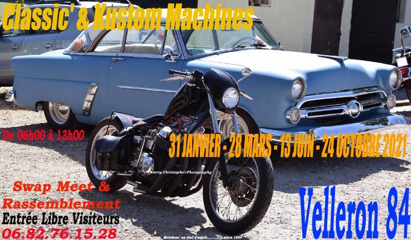 Classic kustom machine velleron 84