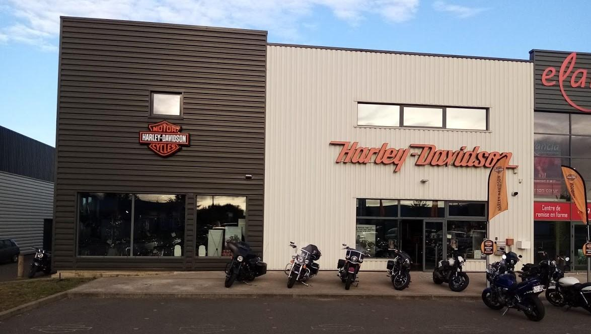 Concession harley a poitiers