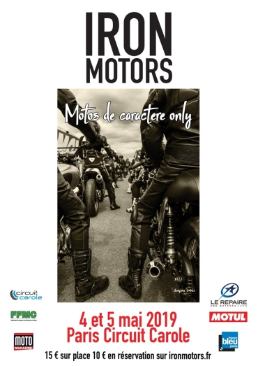 Crbst affiche iron motors 2019