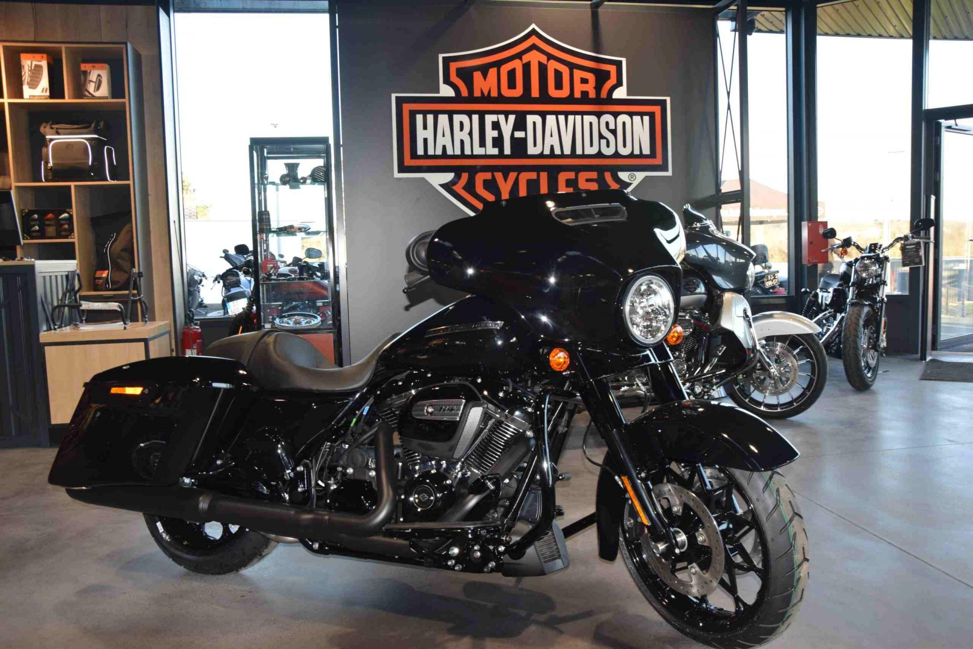 Photo concession Harley Davidson Bayonne