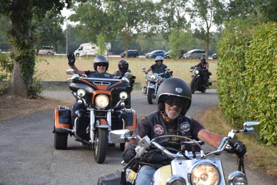 Pierre et son trike Harley