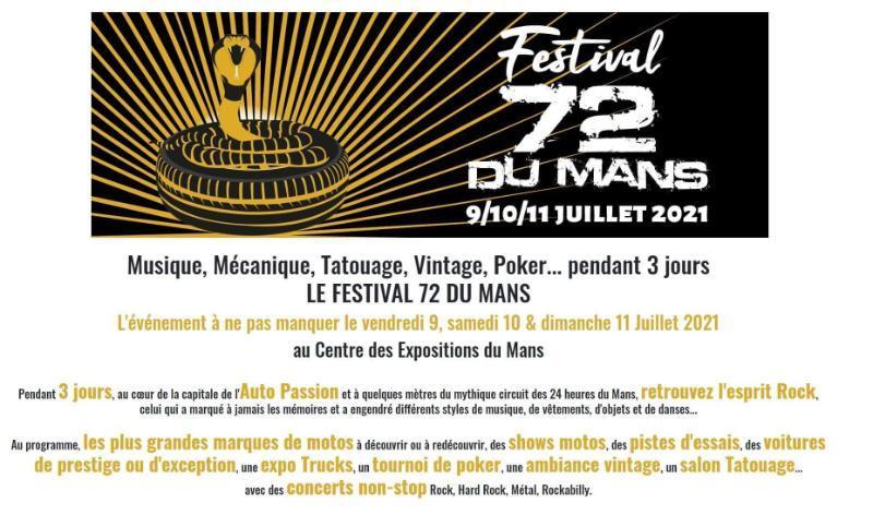 Festival 72 du mans
