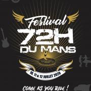 Festival 72 h du mans affiche 1