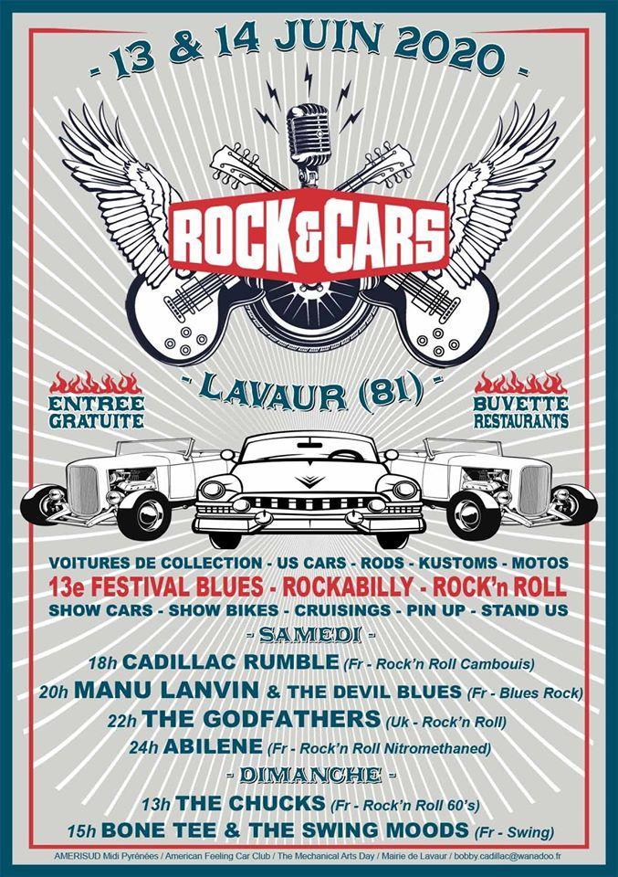 Festival rock cars 2020 lavaur 81