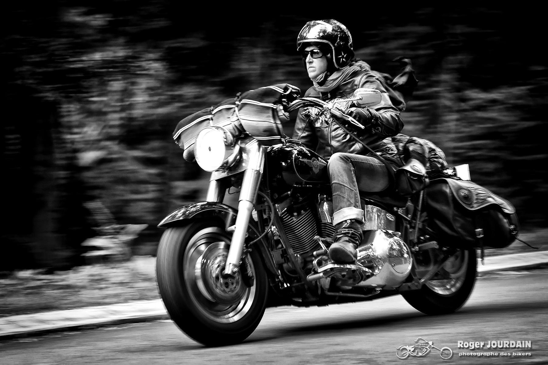 Ma galerie photos spéciale bikers en noir et blanc