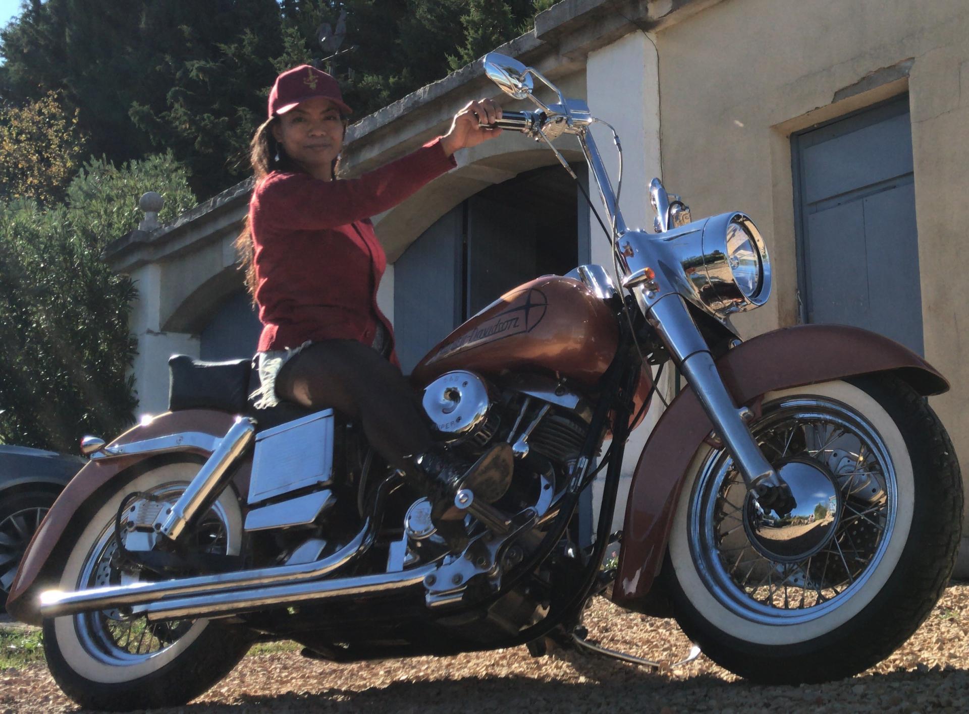 Harley davidson shovelhead flh 1200