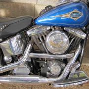 Harley davidson heritage softail classic 1340 cm3 usa annee 1995