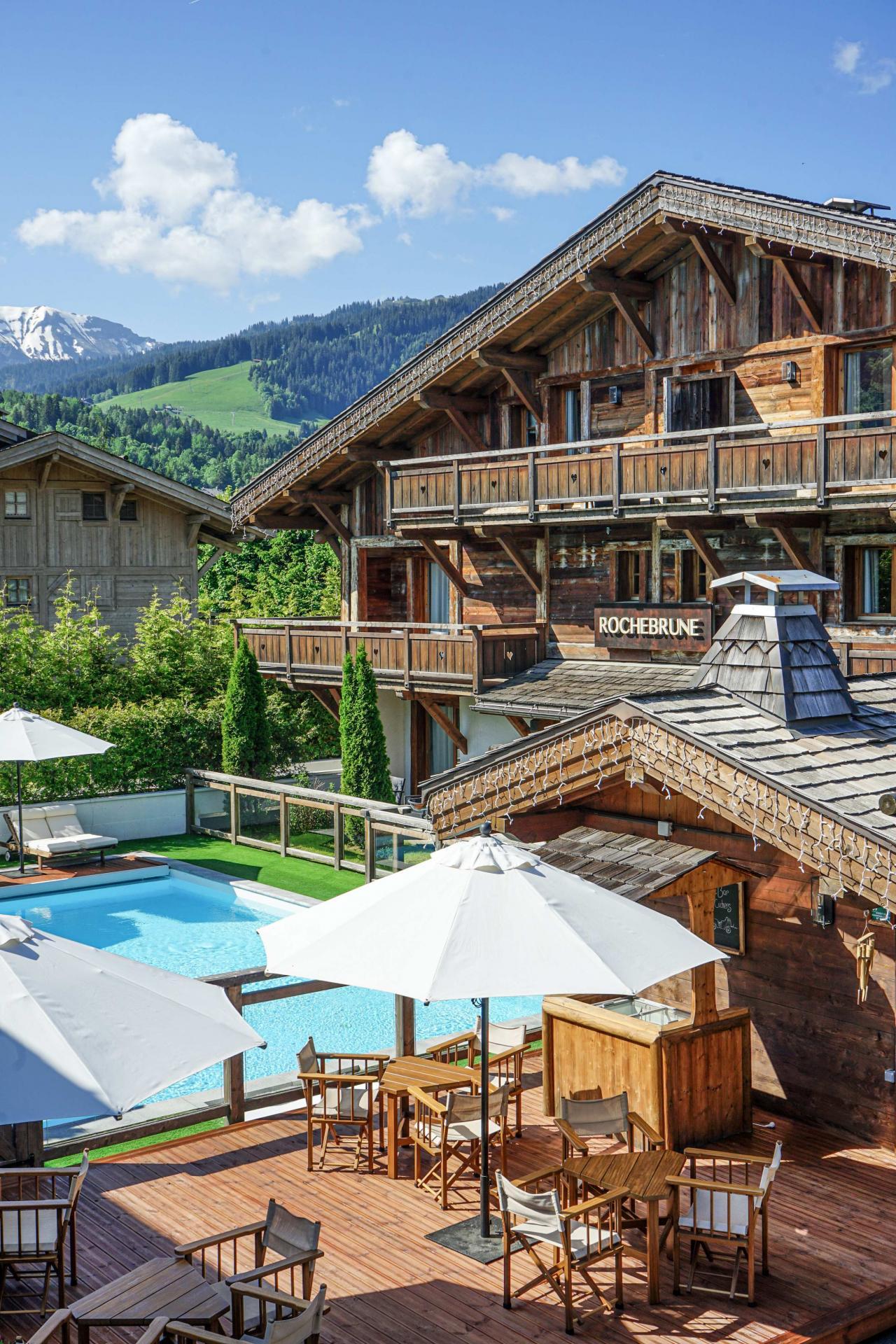 Les Loges Blanches**** à Megève (74), Pays du Mont-Blanc