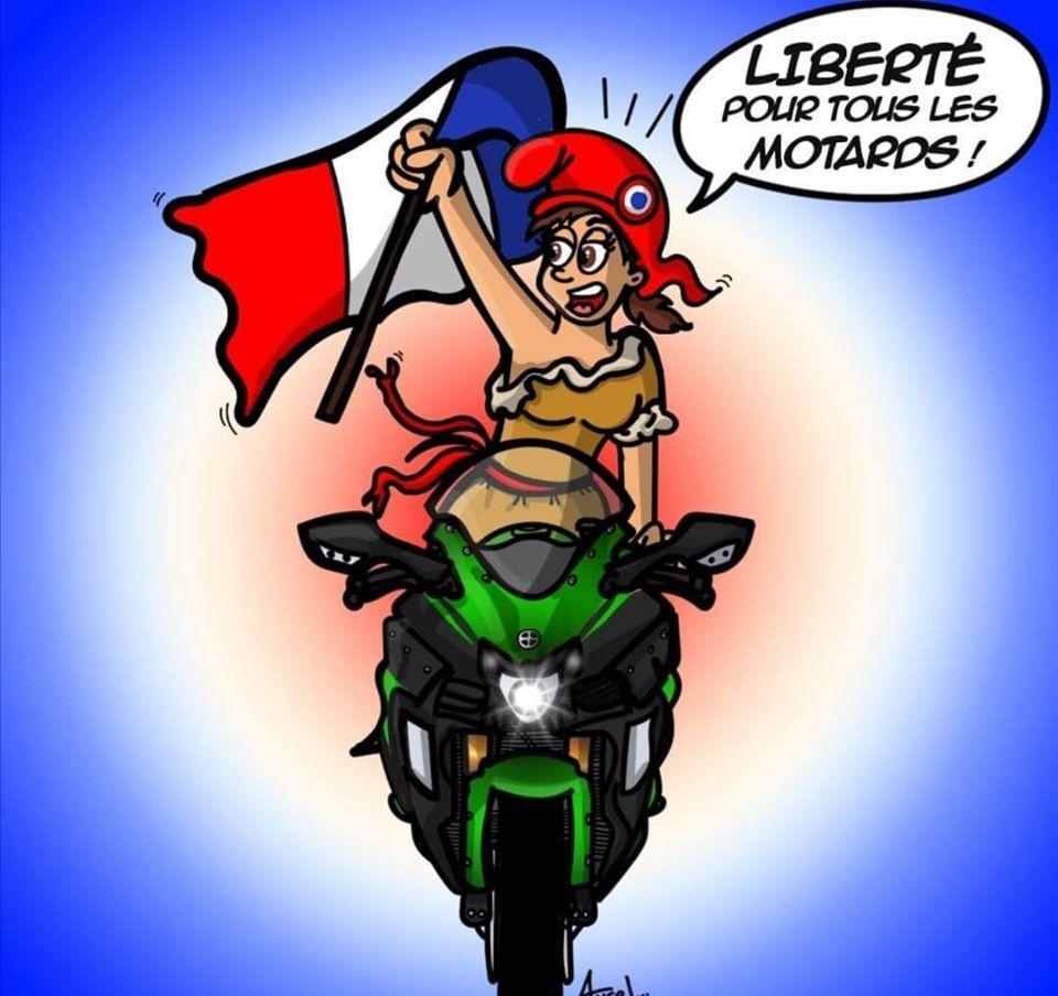 Liberte pour tous les motards