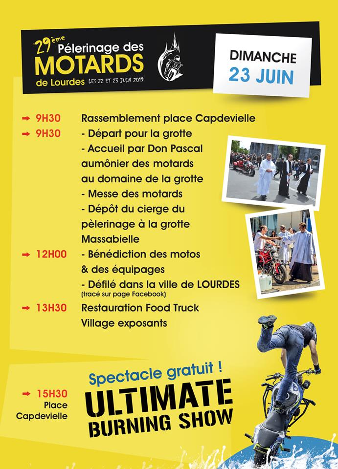 Lourdes programmes