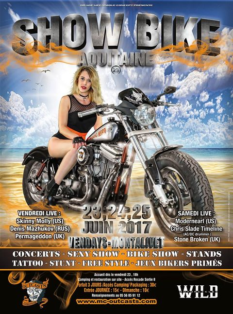 SHOW BIKE MONTALIVET AQUITAINE