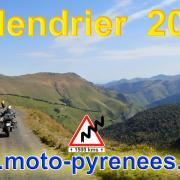 Moto pyrenees balades voyages vacances 0 calendrier 2021 1