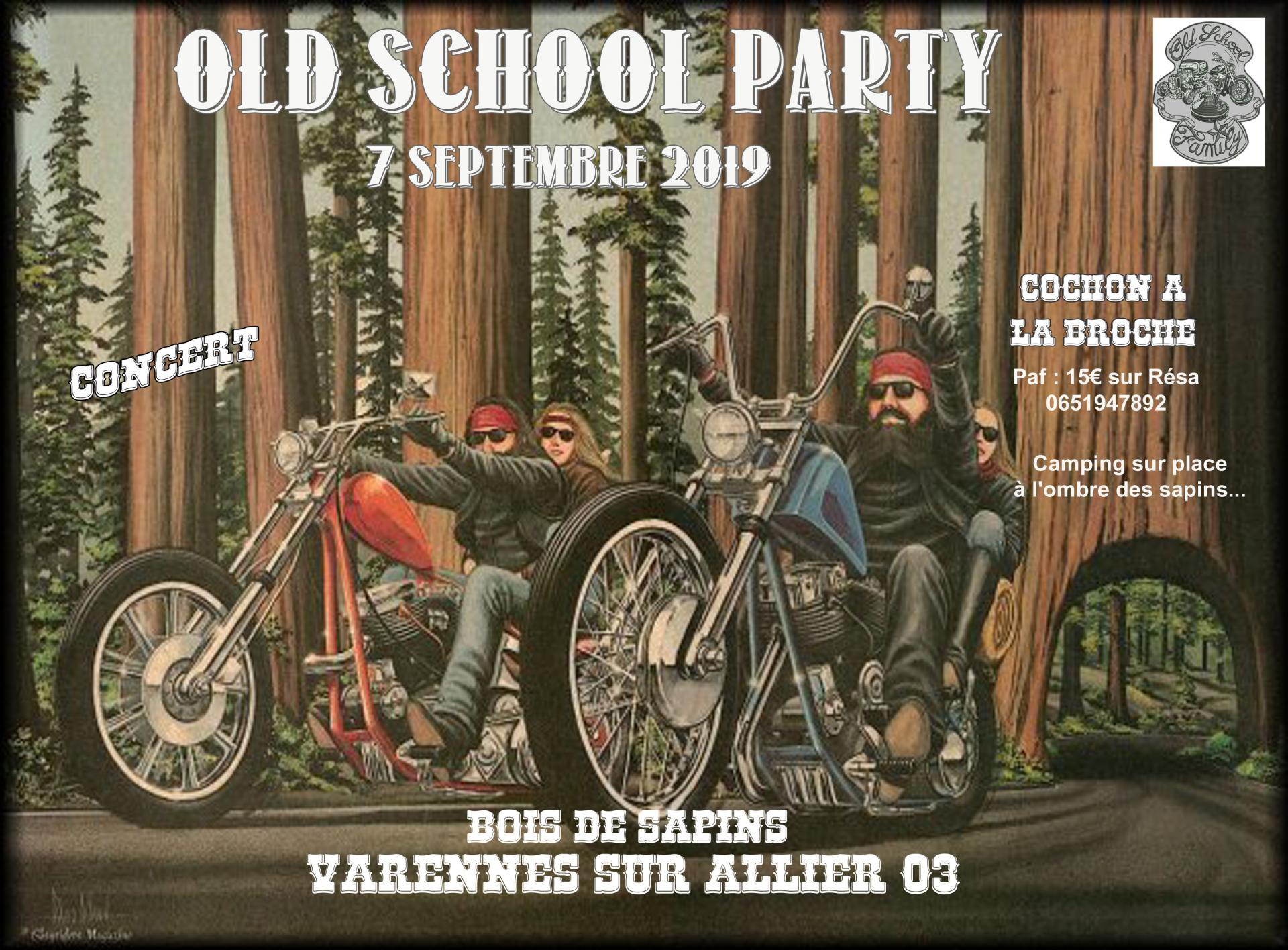 Old school party 1